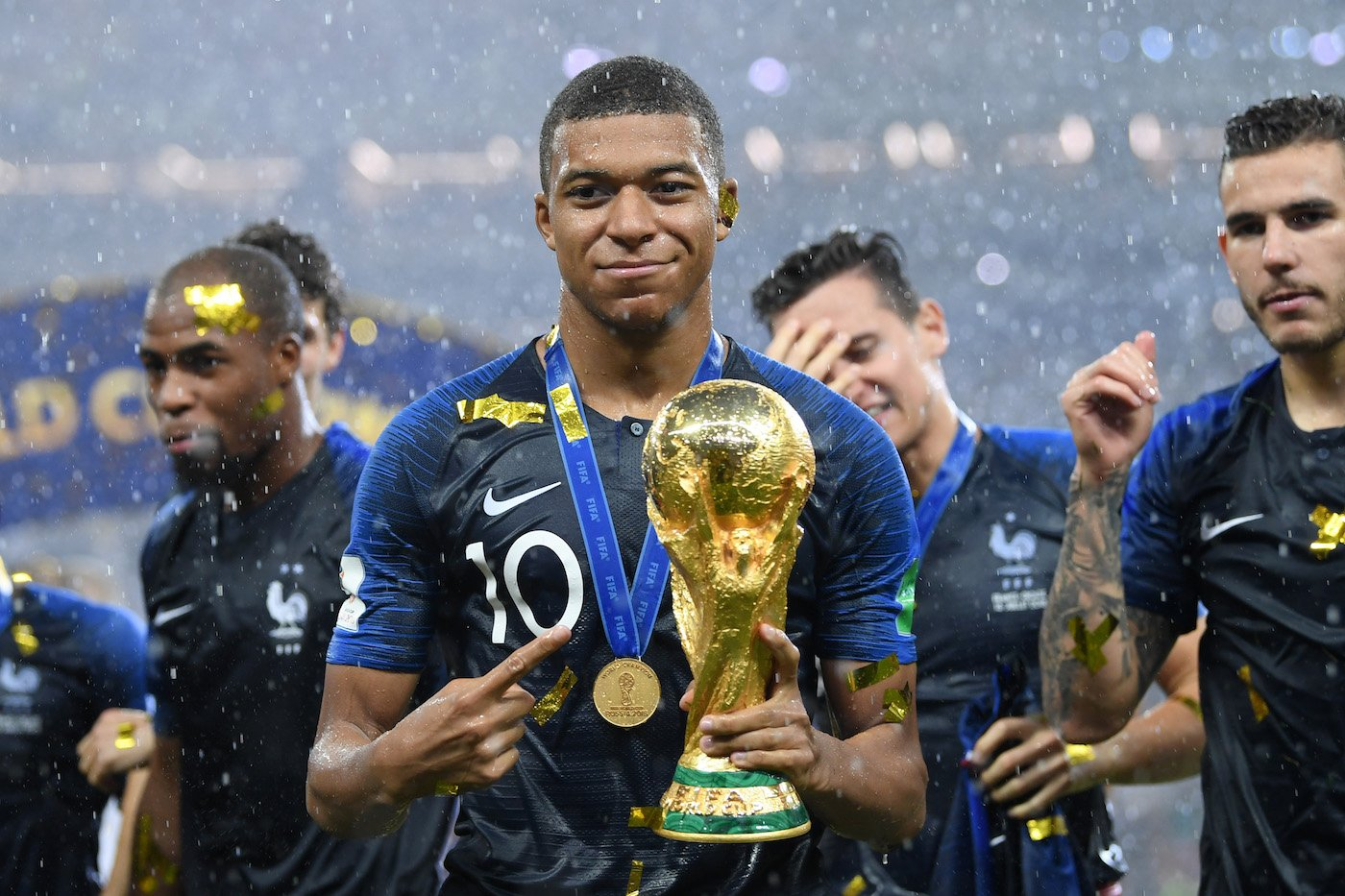 mbappe france world cup 2018