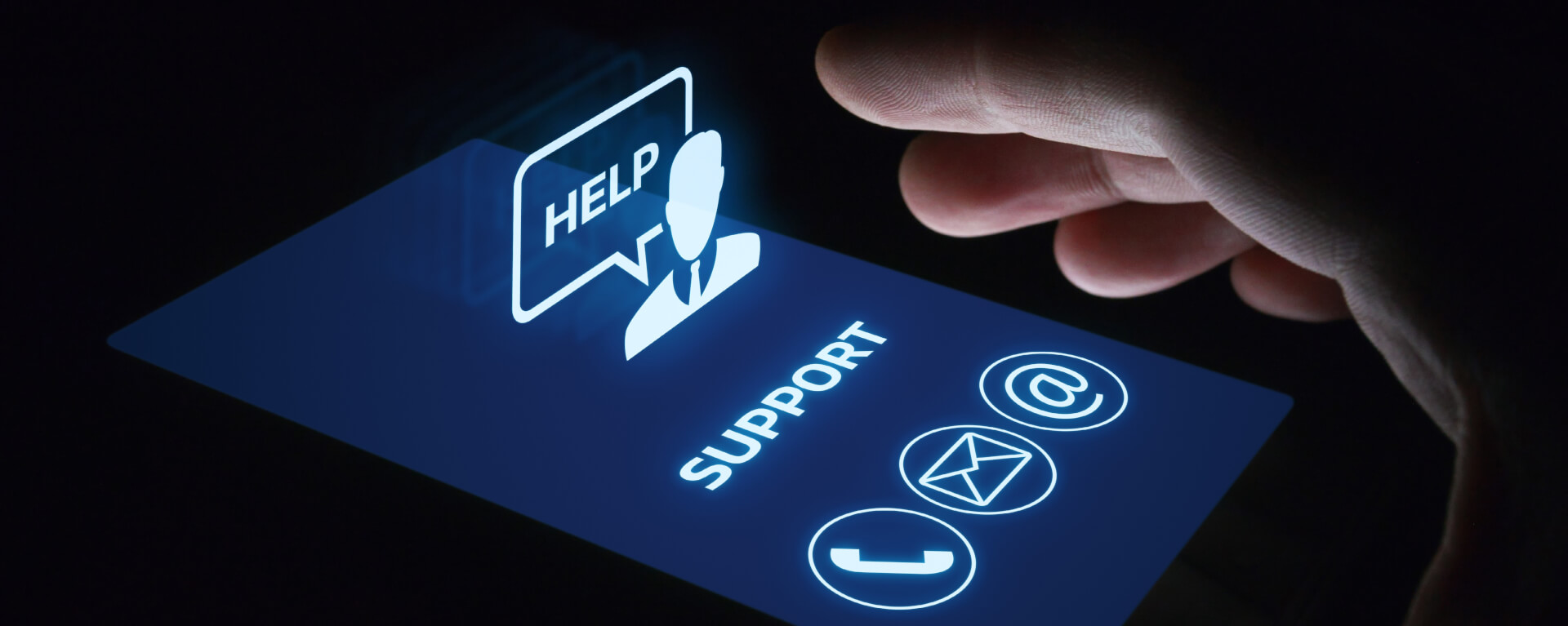 The basic steps to set up Customer Support