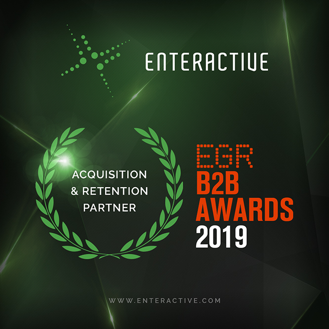 enteractive b2b award acquisition retention