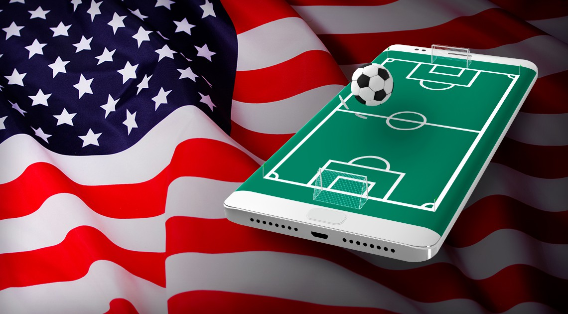 sports betting in the usa market enteractive